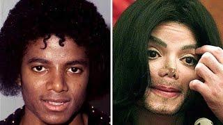 Los Cambios De cara de Michael Jackson | Michael Jackson Antes Y Después De sus operaciones