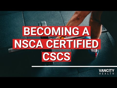 How to Become a NSCA CSCS (Certified Strength and Conditioning ...