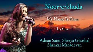 My Name is Khan   Adnan Sami, Shreya Ghoshal   - YouTube