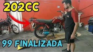 CG 99 Com Motor De Titan 150 Para 202cc Finalizado🚀