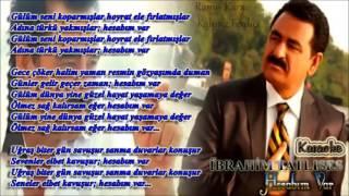 İbrahim Tatlıses   Hesabım Var Altyapı & Karaoke YENİ