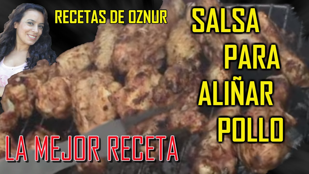 SALSA PARA ALIÑAR POLLO | recetas de cocina faciles rapidas y economicas de hacer - comidas ricas