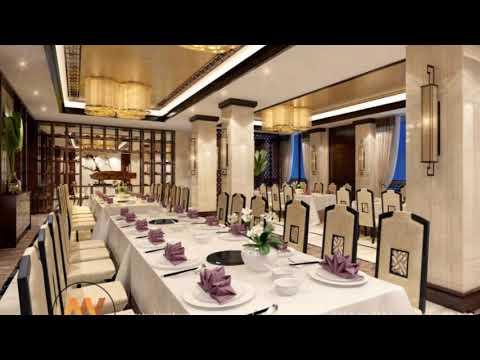 Sang trọng và lịch lãm với mẫu nội thất nhà hàng