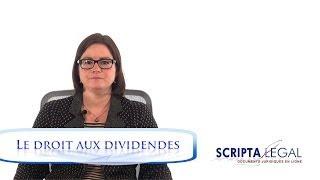 Le droit aux dividendes