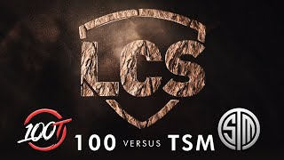 100 vs. TSM | Week 3 | Summer Split 2020 | 100 Thieves vs. TSM