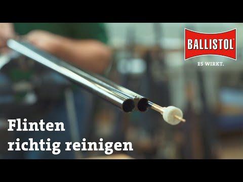 ballistol: Video zur Waffenreinigung mit BALLISTOL, Teil 1: Die Flinte
