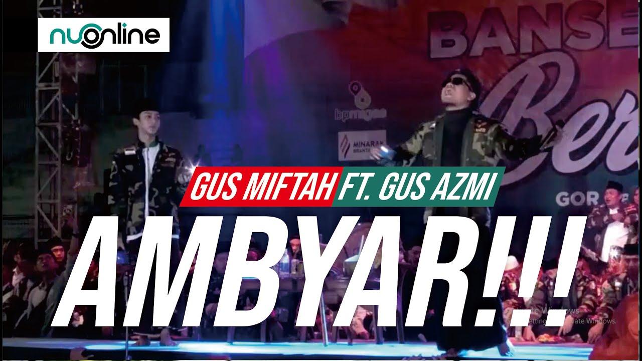 Gus Miftah bareng Gus Azmi di Sidoarjo