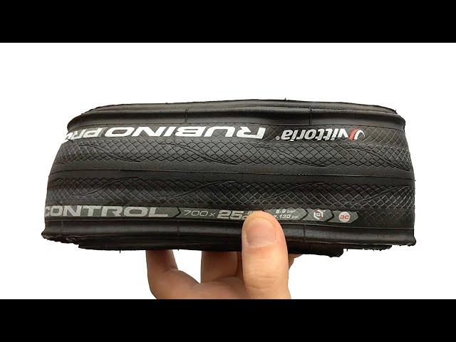 Видео Покрышка Vittoria Rubino Pro IV Control G2.0 700x25C Foldable Full Black