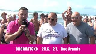 Šlágr dovolená Chorvatsko 25.6.-2.7.2018 Duo Aramis