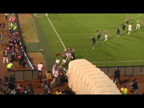 Soccer Match Abandoned Over Drone-Induced Brawl