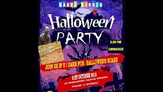 Halloween Party | Teaser | Step2Step Dance Studio