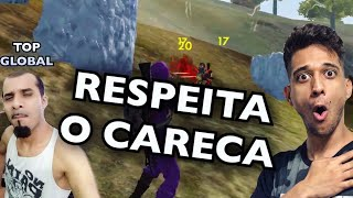 SOBRE GOD WINS O CARECA TOP GLOBAL! EL GATO FREE FIRE!