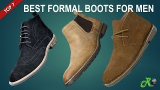 Mens Formal Boots | Top 10 Best Casual Leather Mens Formal Boots Fashion