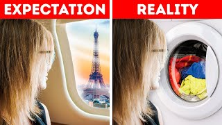 BEING ON VACATIONS || EXPECTATION VS. REALITY || WHAT TO DO ON A BORING DAY