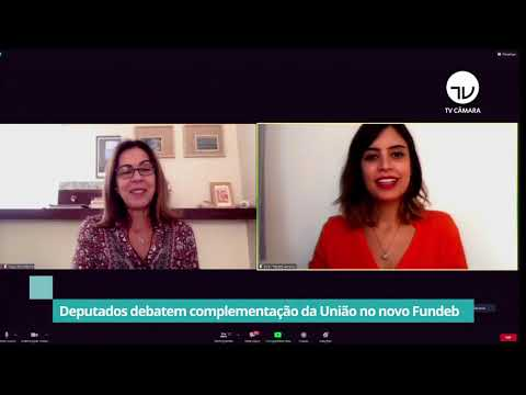 Deputados debatem complementação da União no novo Fundeb - 03/11/20