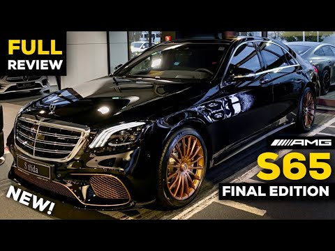 2020 Mercedes S65 AMG V12 Final S Class Edition FULL Review BRUTAL Sound Exhaust Interior