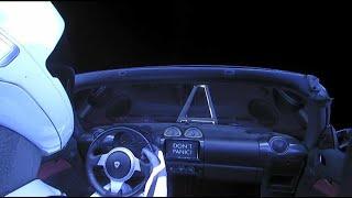 Quand Musk envoie sa Tesla dans l'espace : revivez le décollage de Falcon Heavy