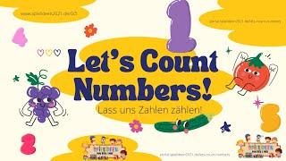 Let's Count Numbers – Zahlen von 1-10-ENGLISCH