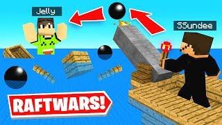 Minecraft BUT It's SHIP WARS w/ Jelly