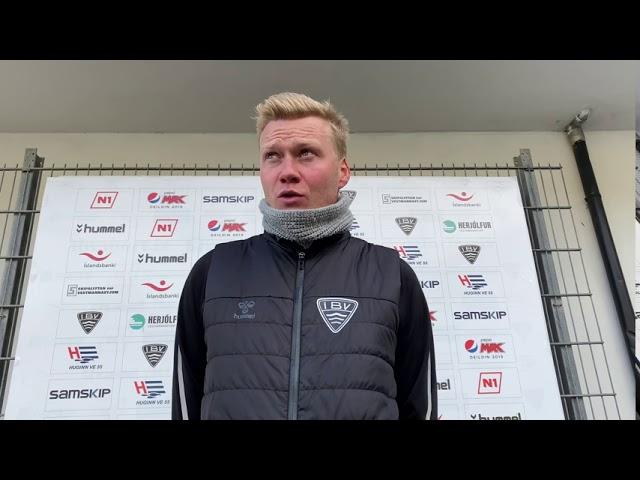 Andri Ólafs: Sáttur með stigið