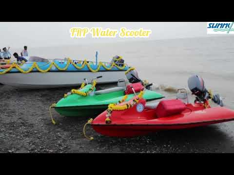 Water Scooter With 9.9 HP Obm