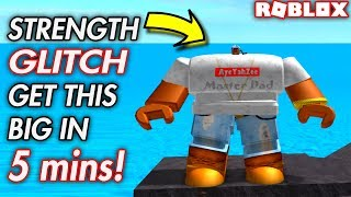 HOW TO GAIN STRENGTH FAST IN ROBLOX! *WEIGHT LIFTING SIMULATOR 2*