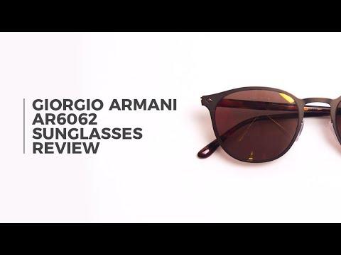 Giorgio Armani AR6062 Sunglasses Review | SmartBuyGlasses