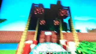 Обзор двора и дома в Майнкрафте серия 2