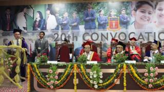 Guest of Honour Speech: GHS IMR 20th Convocation PGDM Batch 2014-2016
