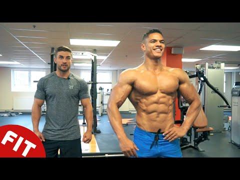 Pompowania masy mięśnia piersiowego 16 kg