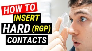 How To Put Hard Contact Lenses In | Doctor Eye Health