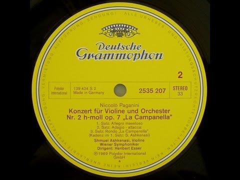 Paganini: Violin Concerto no. 2, op. 7