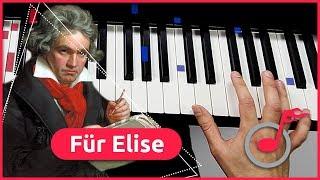 Klavier lernen: Für Elise - Beethoven - Teil 1