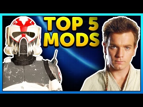 Top 5 Mods of the Week - Star Wars Battlefront 2 Mod Showcase #71