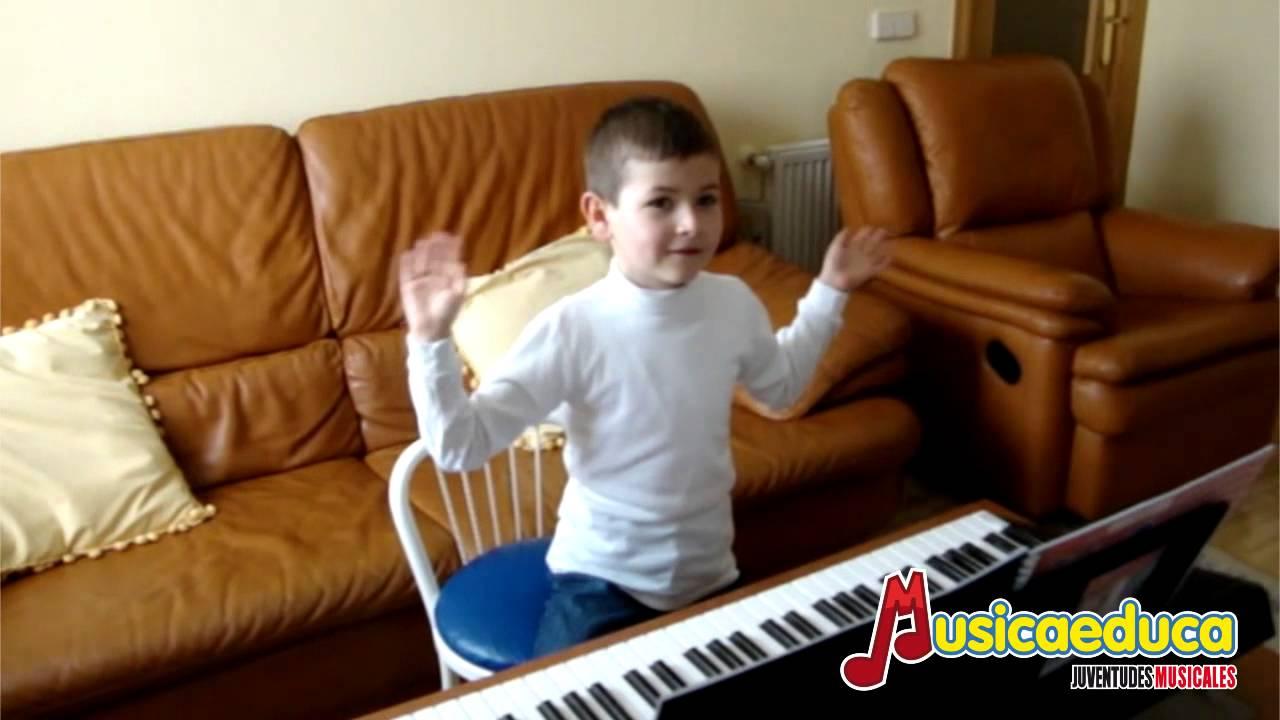 Debajo un botón - Mi Teclado 1 - Musicaeduca Juventudes Musicales de Alcalá