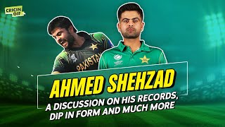 Cricingif Exclusive with Ahmed Shehzad - A discussion on his records, dip in form and more