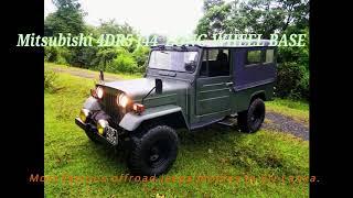 Mithsubhishi 4DR5 J44  offroad jeep Modle(Disel)ලංකාව වේ ප්රසිද්ධ ජීප් මාදිලි