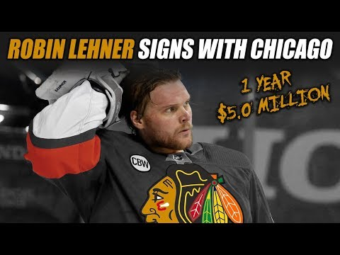 Robin Lehner Signs with the Chicago Blackhawks
