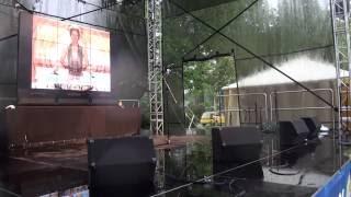 00214 Starptautiskā Jogas diena LU Botāniskajā dārzā Rigā 21.06.2016 Международный день йоги в Риге