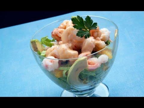 Receta de cóctel de marisco con salsa rosa - Karlos Arguiñano