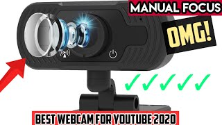 Best Webcam for YOUTUBE, 1080p by FUVISION with (Manual Focus) OMG!