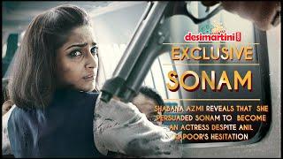 Shabana Azmi Reveals That  She Persuaded Sonam To  Become An Actress Despite Anil Kapoor's Hesitatio