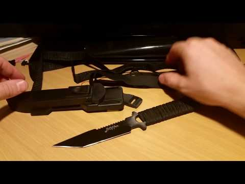 Dive knife under $20- Boffer Scuba dive knife unboxing review