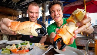 COLOSSAL Crab Claws!! 🦀 Ultimate MIAMI FOOD TOUR - Florida, USA (Part 2)