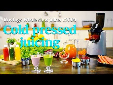 Kuvings Whole Slow Juicer C7000(C9500) - Cold pressed juicing