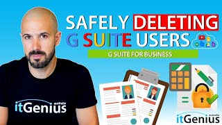 Deleting G Suite user: How to safely do it?