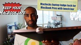Maclocks security laptop lock adapter with touchbar- HERVEs WORLD- Episode 285