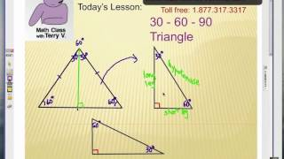 How To Solve Special Right Triangles: 30-60-90