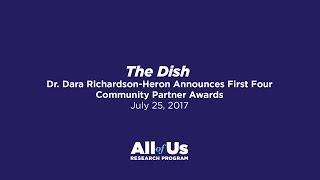 Thumbnail for Program Update: Dr. Dara Richardson-Heron Announces First Four Community Partner Awards