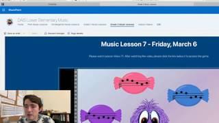 How I Teach Lower Elementary Music Online